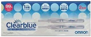 【第2類医薬品】クリアブルー 妊娠検査薬 2回用