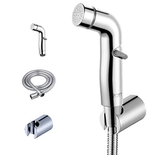 Zotti, doccetta per bidet a mano, di alta qualità, con tubo da 1,5 m e supporto automatico per doccetta
