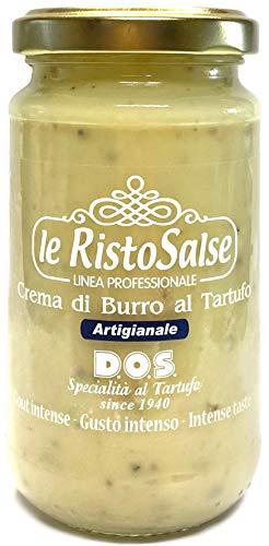 Crème au beurre de truffe 170G - Crème prête à lemploi - Utilisée dans les restaurants et par les chefs professionnels - Truffe Italie Ombrie - Produit artisanal Ombrie - Fabriqué en Italie