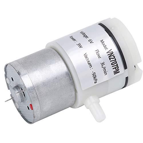 Bomba de agua de diafragma de 3 piezas para tanques de peces para aparatos eléctricos