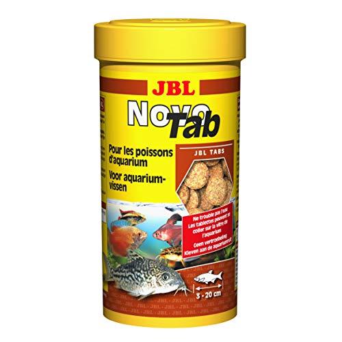 JBL Novotab Alimento Básico en Pastillas para Todos los Peces de Acuario - 250 ml