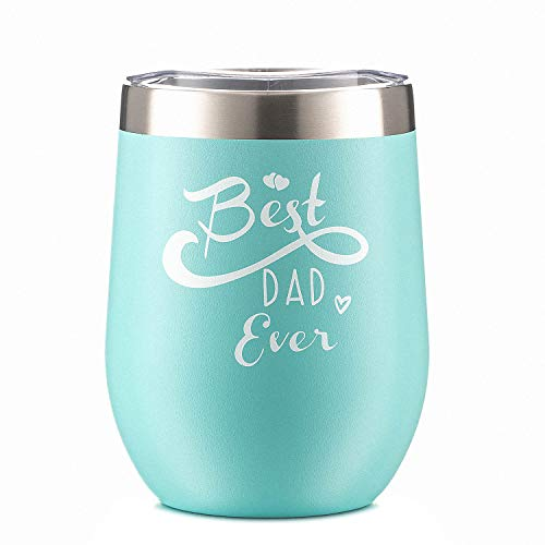 Best Dad Gift for Birthday from Daughter and Son Dad Funny Sippy Cup Wine Glass Tumbler With Lid and Straw Perfect as a Birthday, Christmas, Father's Day Gift for Men Father in Law,Step-father