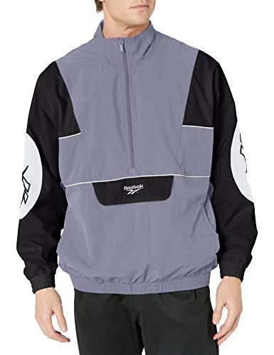 Reebok Unisex-Erwachsene Classic Electrogen Anorak Jacke, Unisex-Erwachsene Herren, Jacke, Classic Electrogen Anorak Jacket, Violet Haze, X-Large