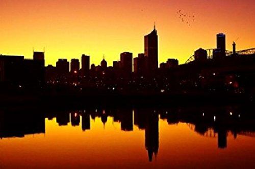 Posterazzi David Wall, Melbourne CBD und...
