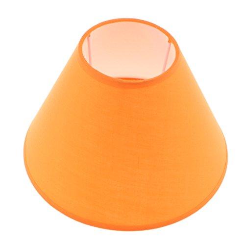 perfk E27 Abat-jour de de Lampe pour Table Plafonnier lampe de plafond - Orange
