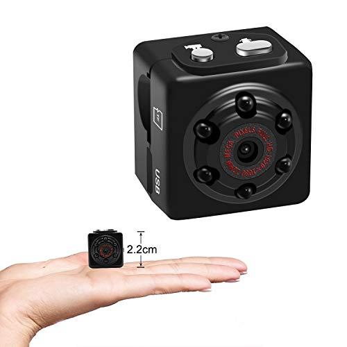 SHHENGSHIYUJIA 1080P Mini-Kamera-Sprachaufzeichnungsgerät Sport-HD-DV-tragbare kleine Kamera-Mini-Sound-Videokamera mit Bewegungserkennung
