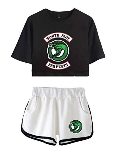 Camiseta Pantalón Corto Riverdale Adolescente Chica