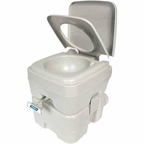 Camco Portable Toilet 5.3 gal,White