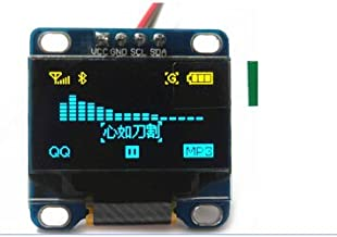 0.96 Inch Yellow and Blue I2C IIC Serial 128X64 OLED Display Module for Arduino