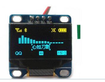 "Blue 0.96/"" inch 128x64 OLED LCD LCM SPI Display Module für Arduino STM32 51"