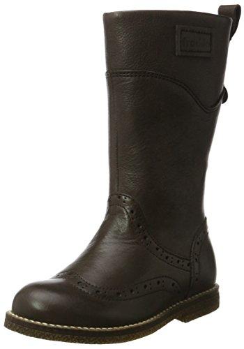 Froddo Froddo Mädchen Girls Boot G3160069-1 Schneestiefel, Braun (Dark Brown), 38 EU