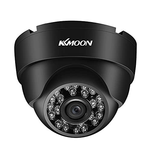 KKmoon 720P HD Cámara de Vigilancia, Cámara CCTV, A Prueba de la Intemperie, Visión Nocturna Infrarroja, Detección de Movimiento, para el Sistema Analógico DVR PAL