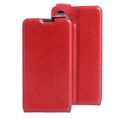 Litao-Case CN Hülle für wiko b Kool Sunny hülle Flip Leder + TPU Silikon Fixierh Schutzhülle Case 6