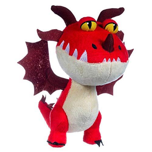 Dragons Plüsch Figuren zur Auswahl | DreamWorks 20 cm Kuscheltier | Softwool, Plüsch:Hakenzahn