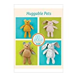 KWIK-SEW PATTERNS Kwik Baby's Stuffed Animal Toy Sewing Patterns by Ellie Mage Designs, Two Sizes