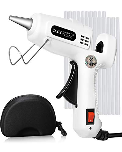 Hot Glue Gun with Glue Sticks, Lightweight Mini Hot Melt Glue Gun Kit for Kids,25W Low Temp Crafts,Home Decoration for Christmas/New Years Day