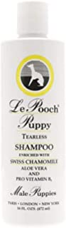 Les Pooch, Male Puppy Tearless Shampoo / 8 oz or 16 oz/Unique Formula Designed for Puppies with Sensitive Skin