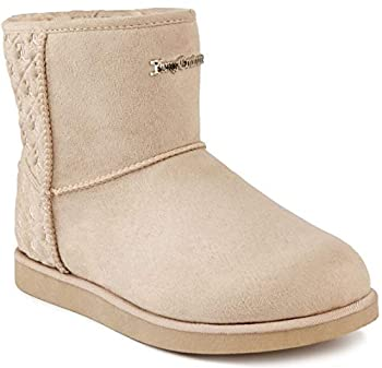 Juicy Couture Women s Kave Slip On Winter Boots Warm Winter BootiesTaupe 6