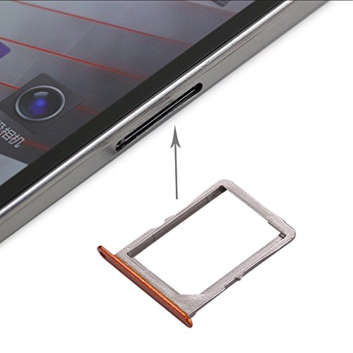 Mobile Phone Flex Cable For Lenovo K900 SIM Card Tray(Black) Flex Cable (Color : Orange)