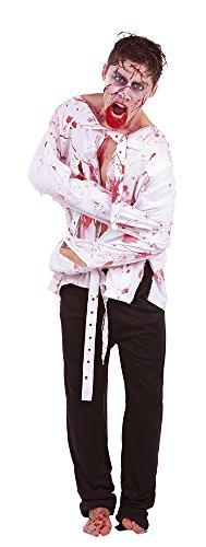Zombies - Disfraz de zombie zumbado, para adultos (Rubie