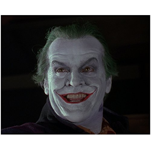 Jack Nicholson 8 Inch x 10 Inch Photo The Shining The Departed Chinatown as the Joker No Hat Head Shot kn