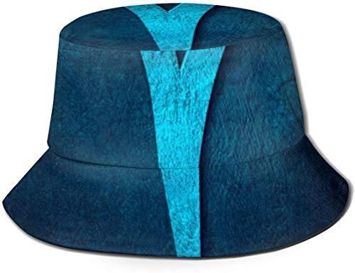 DUTRIX Sombreros de Cubo Transpirables con Parte Superior Plana Bikini Unisex Mujeres en el Espacio Sombrero de Cubo de Playa Sombrero de Pescador de Verano-Aries-Talla única