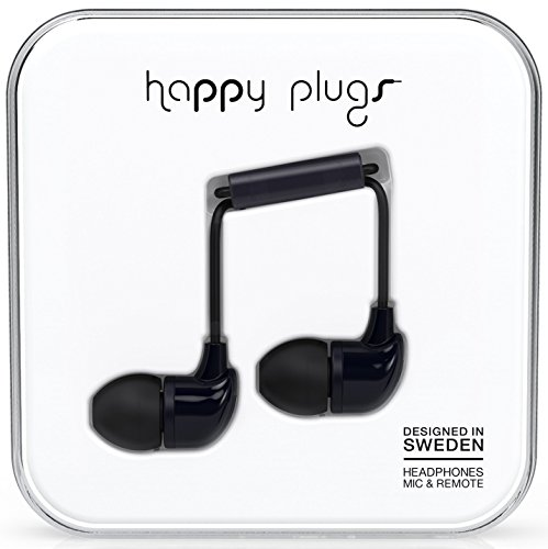 Happy Plugs In-Ear schwarz