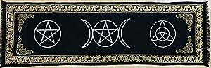 Altar Cloth Pentagram 72x22 Inches (182X56 cm)