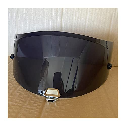 Visera de Casco de Motocicleta para H-JC Rpha-11 Pro, Rpha-70 S T Anti -UV Polvo a Prueba de Polvo Casco Red Casco Moto Velmet Lens Visores de Motocicleta Escudo (Color : Deep Smoke)