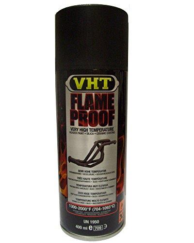 VHT GSP102 - Vernice per marmitta, ignifuga, resistente fino a 1093 °C, colore: nero opaco