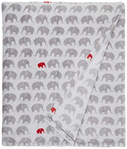 Northpoint Trading Inc. Manchester & All Souls Elephant Parade Printed 60X70 Velvet Throws
