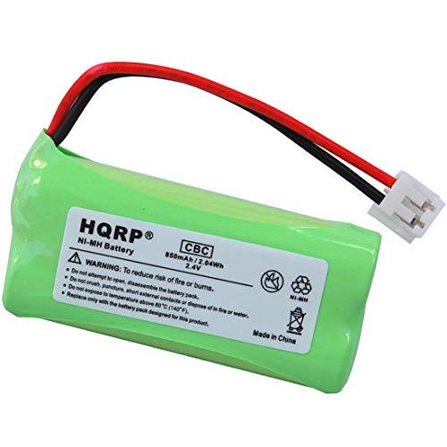 HQRP Batterie compatible avec Sanik 2SN-AAA70H-S-J1, 2SV-AAA65H-S-J1, 2SN-AAA65H-S-J1 Telephone sans fil