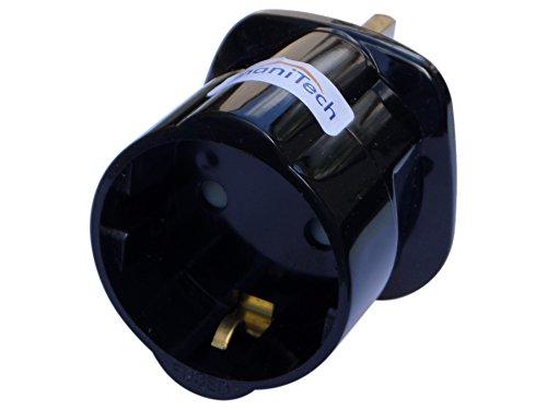 ShaniTech Reise-Adapter, Eurostecker auf britische Steckdose