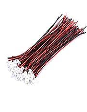JST 1,25 mm 2-pins/3-pins micro mannelijke vrouwelijke connector plug verlengkabel met 100 mm kabel, 20st