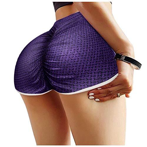 NAQUSHA Las mujeres de la cintura cruzada más el tamaño corto corriendo apretado básico Slip Bike Shorts compresión entrenamiento yoga pantalones cortos pantalones
