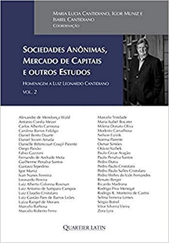 Sociedades Anônimas, Mercado de Capitais e Outros Estudos - Volume 2