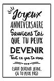 Heureux Anniversaire Carnet De Notes: Idée Cadeau D Anniversaire Pour Femme, Pour Homme, Original Et Pratique Pour Souhaiter Un Bon Anniversaire Avec Humour!