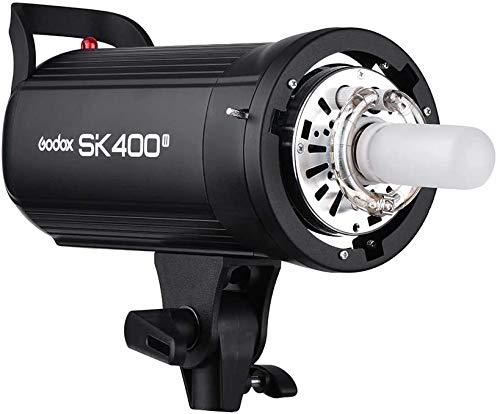 GodoxSK400II Profesional 400 Wsflash estroboscópico de Estudio 2.4 G Wireless X SystemGN65 5600 K con 150 W Modelado lámpara de