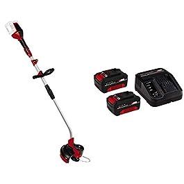 Einhell Coupe-bordures sans fil GE-CT 36/30 Li E – Solo – Système Power X-Change (2×18 V, double fil : 30 cm, Longueur…