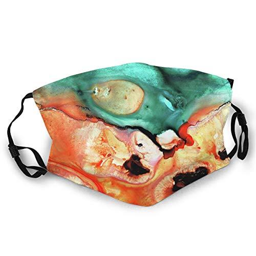 Unisex Headscarf Fashion Headscarf Balaclava, Washable And Reusable The World Under The Microscope
