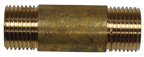 Cornat Messing Rohrnippel 1/2 Zoll , 60 mm, T396901