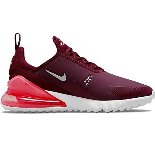 Nike Air MAX 270 G Zapatillas de Golf para Hombre (Dark/Beetroot-Sail/Pink Salt, Numeric_40_Point_5)