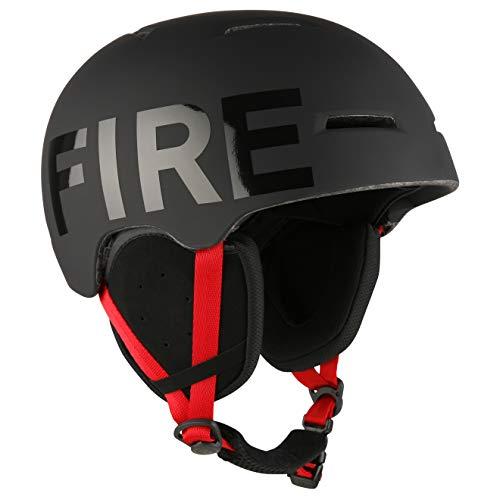 Bogner Ski-Helm Fire+Ice Black (Größe: M - Kopfumfang 55-58cm)
