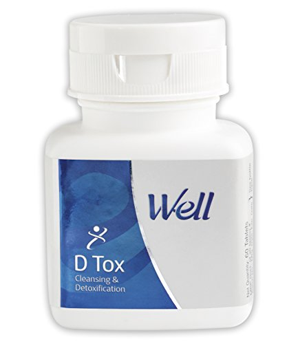Modicare Well D Tox - Detoxification & Cleansing Liver Support - 60 Tablets