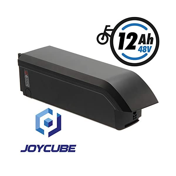 41vSNzI0DdL. SS600  - Joycube E-Bike Akku 48V 11,6Ah für Fischer u.a. Modell: SF-06S (5-poliger Stecker - Olympiaanordnung )