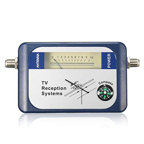DVB-T TV FINANDER DE Antena Digitales Digitales DE Signos TERRESTRIALES DE Fuerza del Meter Puntero ORBITER TELEVISOR Receptor
