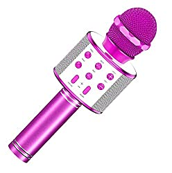 top rated Toys for girls 4-12 years old, wireless portable portable Bluetooth karaoke microphones for kids … 2021