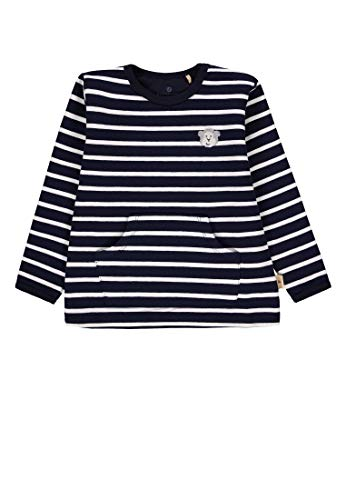 Bellybutton mother nature & me Baby-Jungen, 1/1 Arm Sweatshirt, Mehrfarbig (Y/D Stripe|Multicolored 0001), 74