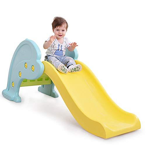Peuterglijbaan, 3-staps vrijstaande kinderglijbaan, binnenshuis Tuinglijbanen geschikt voor kinderen van 1-3 jaar, eenvoudig te monteren