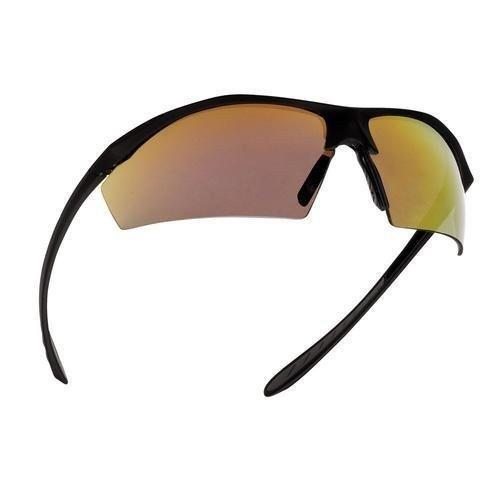 bollé Sentinel AS - Gafas de sol, color negro mate y rojo brillante